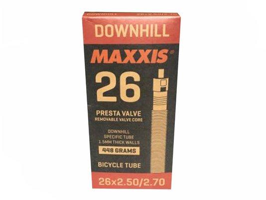 "CÂMARA DE AR MAXXIS DH 26"" X 2.5 / 2.7 X 1.5MM - VALVULA PRESTA (UNIDADE)"
