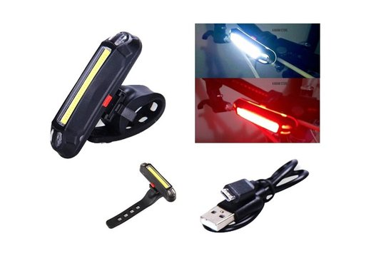 LANTERNA USB LED YBF-1014-H 5 FUNCOES