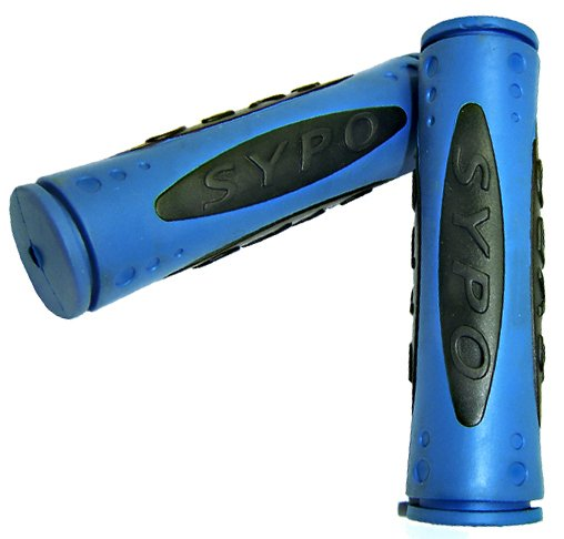 Manopla MTB Azul/ Preto SYPO.